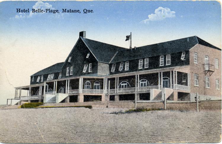 Premier Hôtel Belle Plage, construit vers 1921