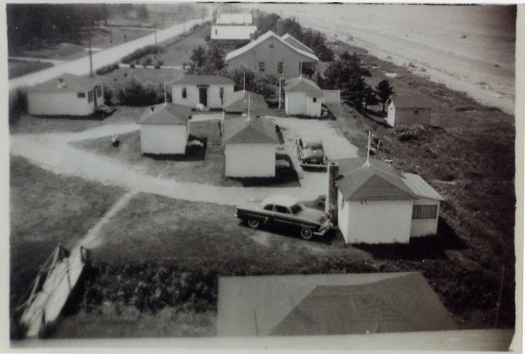 Hôtel Belle Plage au temps de M. Raoul Roux, fin des années 50