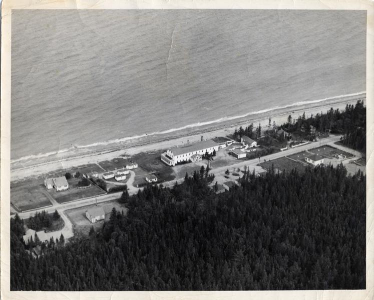 Hôtel Belle Plage au temps de M. Raoul Roux, de 1953 à1978