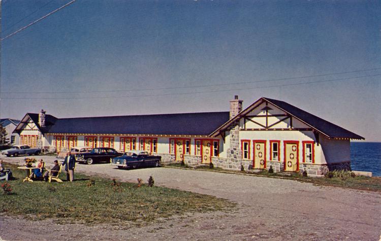 Hôtel Belle Plage au temps de la Famille Roux, de 1953 à 1978