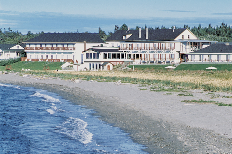 Hôtel Belle Plage propriété de la Famille Dulac, depuis 1986